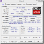 Athlon5350 PC上のビルド時間