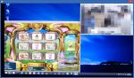 TVを見ながらPSO2(Athlon5350)