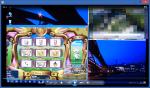 TVを見ながらPSO2(Pentium G3258)